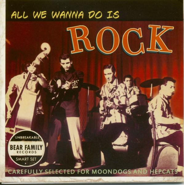 All We Wanna Do Is Rock - 35th Anniv.Sampler