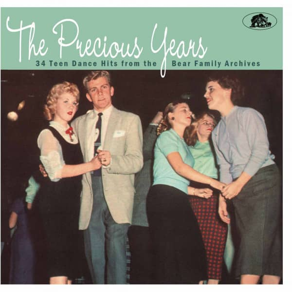 The Precious Years - 34 Teen Dance Hits From The Bear Family Archives (CD)