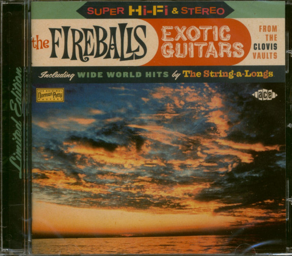 Exotic Guitars From The Clovis Vaults (CD)