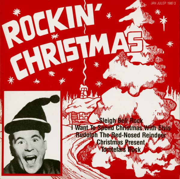 Rockin' Christmas Vol.3 (7inch, EP, 45rpm, PS, Violet Vinyl)