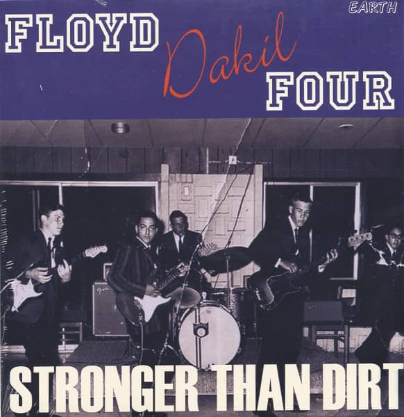 Stronger Than Dirt (7inch EP, 45rpm, PS)