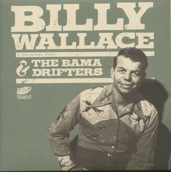 Billy Wallace And The Bama Drifters (EP, 7inch, 45rpm, PS)