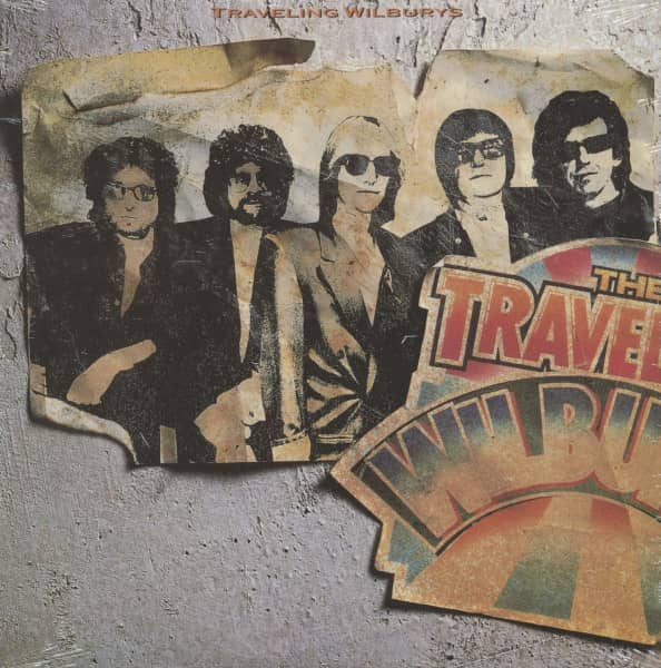 Traveling Wilburys (LP, Cut-out)