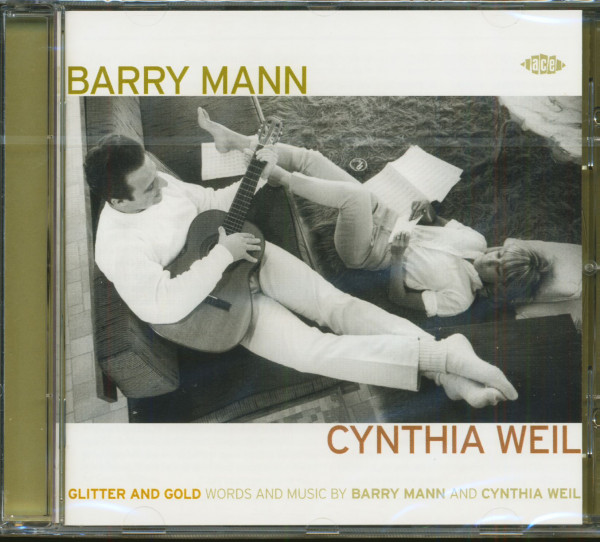 Glitter And Gold - Words & Music by Barry Mann & Cynthia Weil (CD)