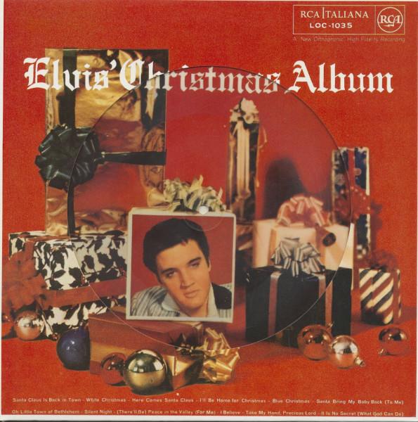 Elvis Christmas Album.Elvis Presley Lp Elvis Christmas Album Picture Disc Lp