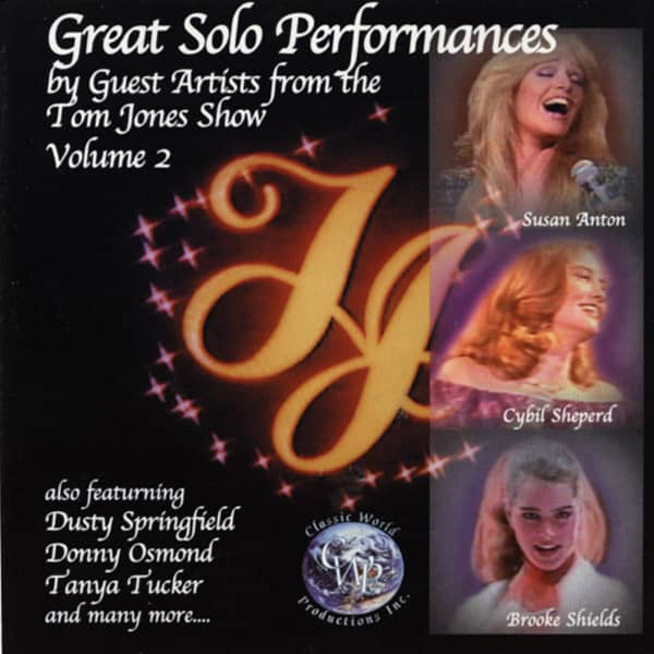 Vol.2, Tom Jones Show Solo Performances