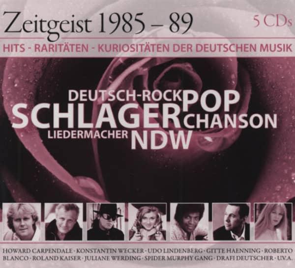 Zeitgeist 1985-89 (5-CD)