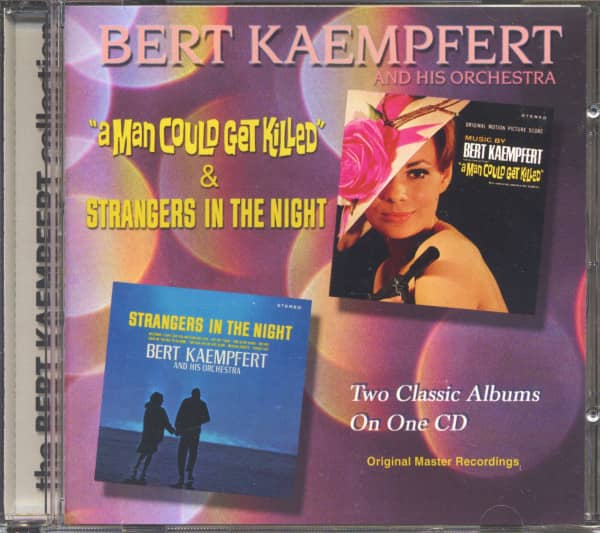 Man Could Get Killed - Strangers In The Night (CD)
