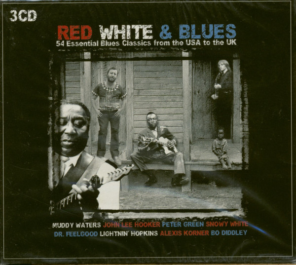 Red White & Blues - 54 Essential Blues Classics From The USA To The UK (3-CD)