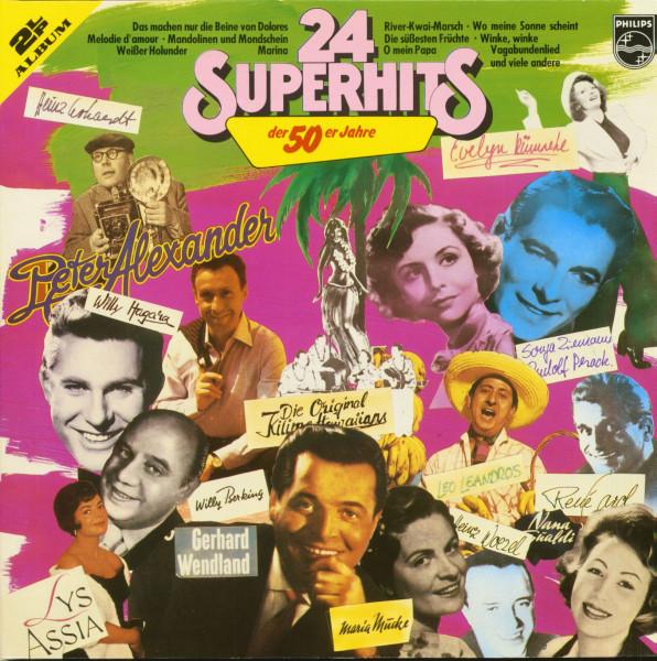 24 Superhits der 50er Jahre (2-LP)
