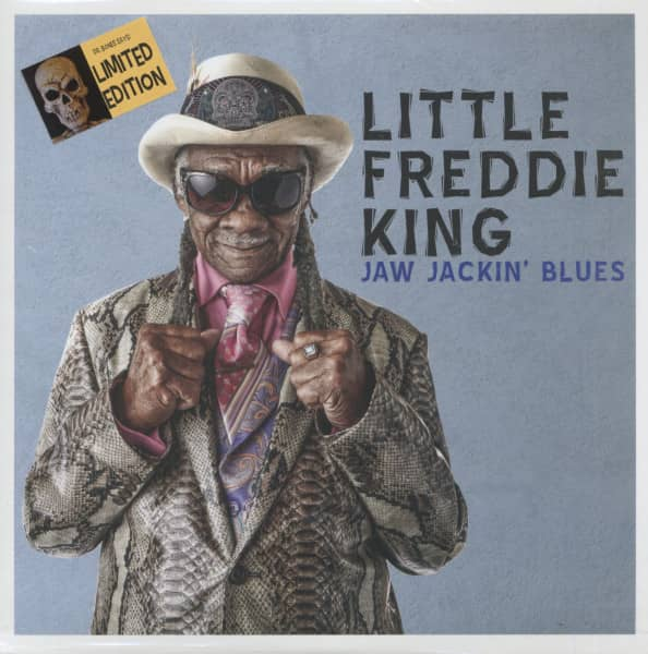 Jaw Jackin' Blues (LP, Blue Vinyl, Ltd.)