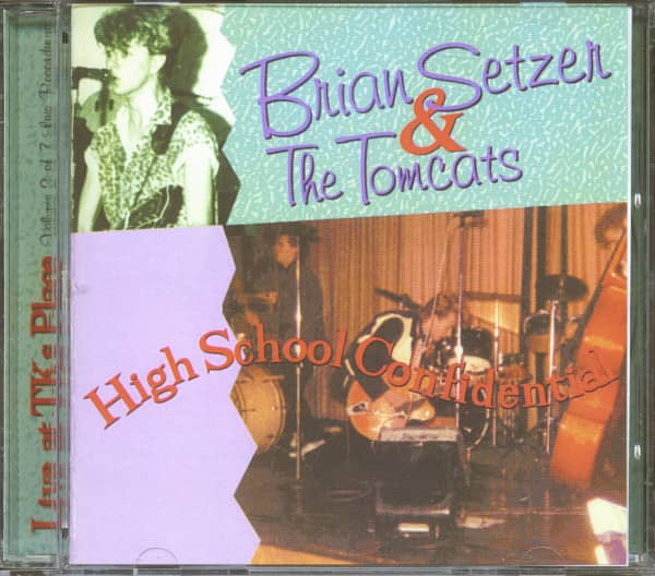 High School Confidential - Live At TK's Place, May 24, 1980, First Set (CD)