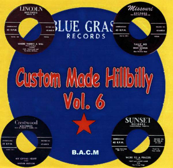 Custom Made Hillbilly Vol.6 (CD)