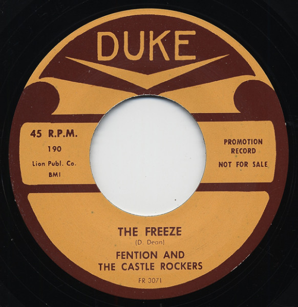 The Freeze - Double Freeze 7inch, 45rpm