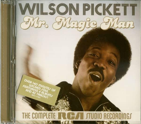 Mr. Magic Man - The Complete RCA Studio Recordings (2-CD)