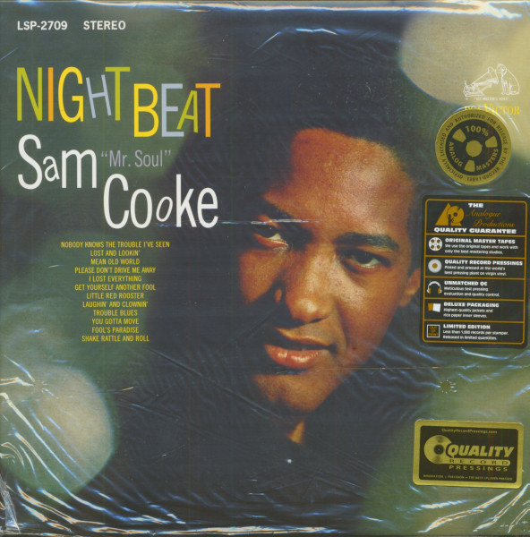 Night Beat (2-LP, 180g Vinyl, 45rpm, Ltd.)