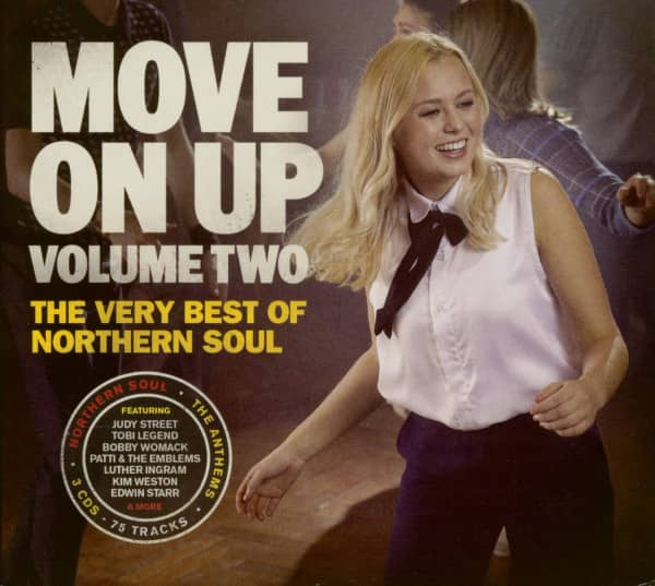 Move On Up Vol.2 - The Very Best Of Northern Soul (3-CD)
