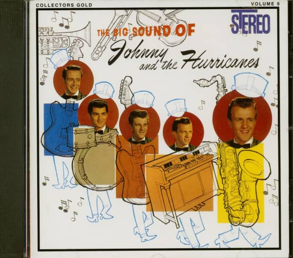The Big Sound Of Johnny And The Hurricanes (CD)
