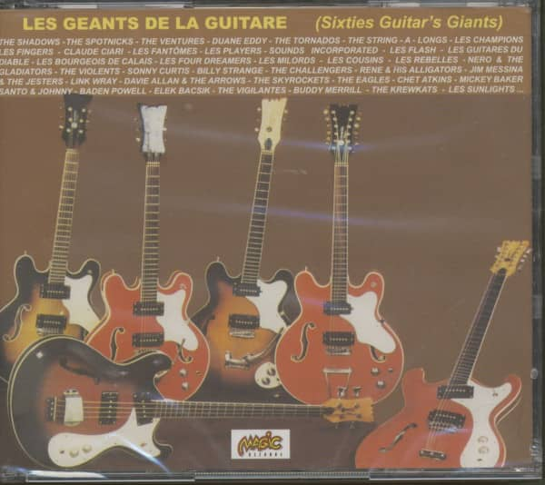 Les Geants De La Guitare - Sixties Guitar's Giants (4-CD)