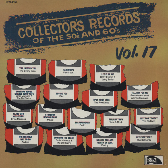 Collector's Records Of The 50s & 60s Vol.17