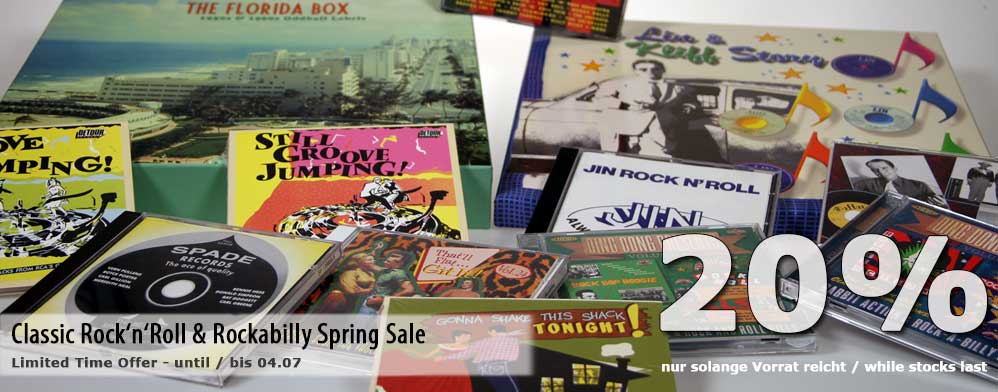 Classic Rock'n'Roll & Rockabilly Spring Sale