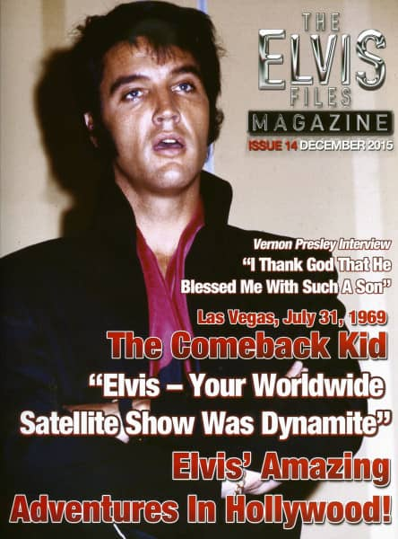 The Elvis Files Magazine #14-December 2015