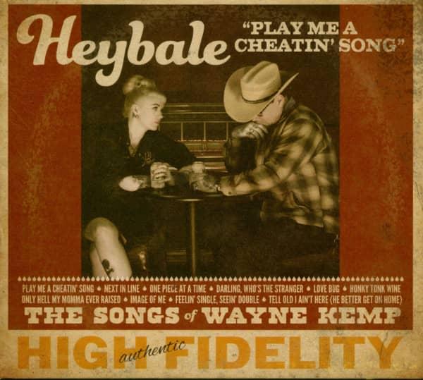 Play Me A Cheatin' Songs - The Songs Of Wayne Kemp (CD)