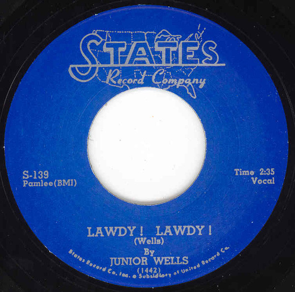Lawdy! Lawdy! bw - 'Bout The Break Of Day 7inch, 45rpm