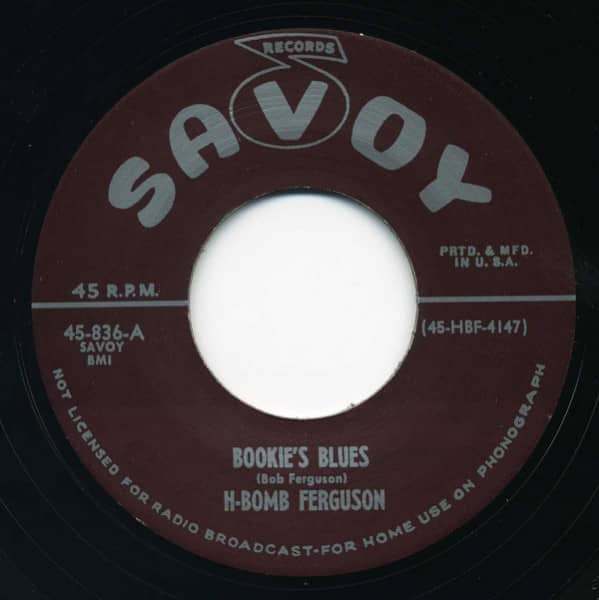 Good Lovin' - Bookie's Blues 7inch, 45rpm