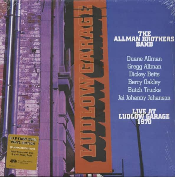 Live At Ludlow Garage 1970 (3-LP, 180g Vinyl)