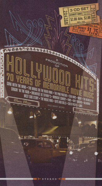 Hollywood Hits - 70 Years Movie Music (4-CD)