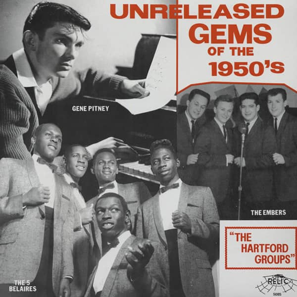 Unreleased Gems From The 1950s 'The Hartford Groups' (LP)