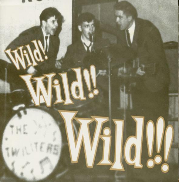 Wild! Wild!! Wild!!! (7inch EP, 45rpm, BC, PS)