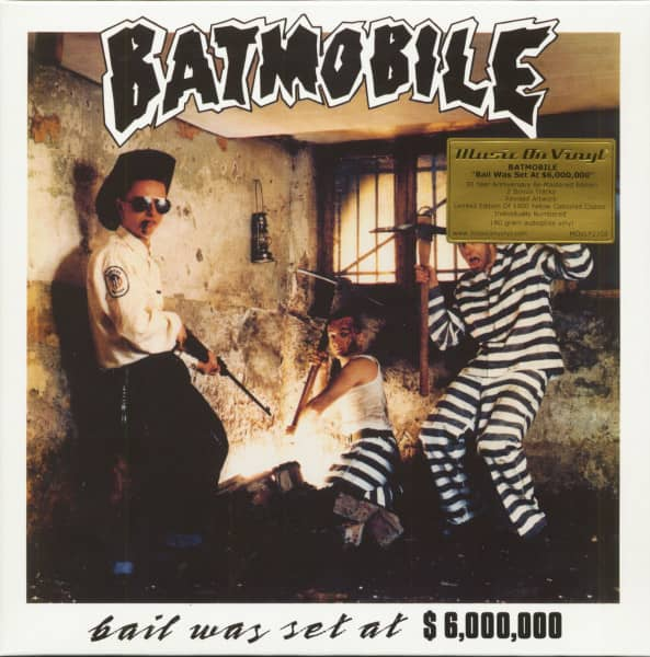Bail Was Set At $6,000,000 - 30 Year Anniversary (LP, 180g Yellow Vinyl, Limited-Numbered-Edition)