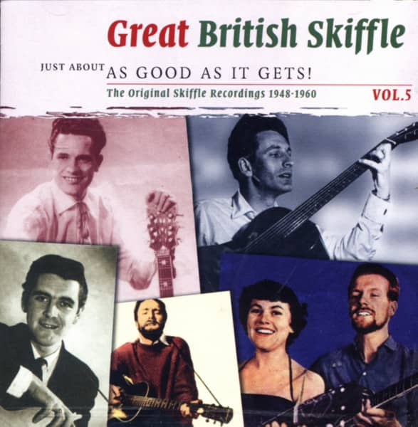 Vol.5, Skiffle - As Good As It Gets (2-CD)