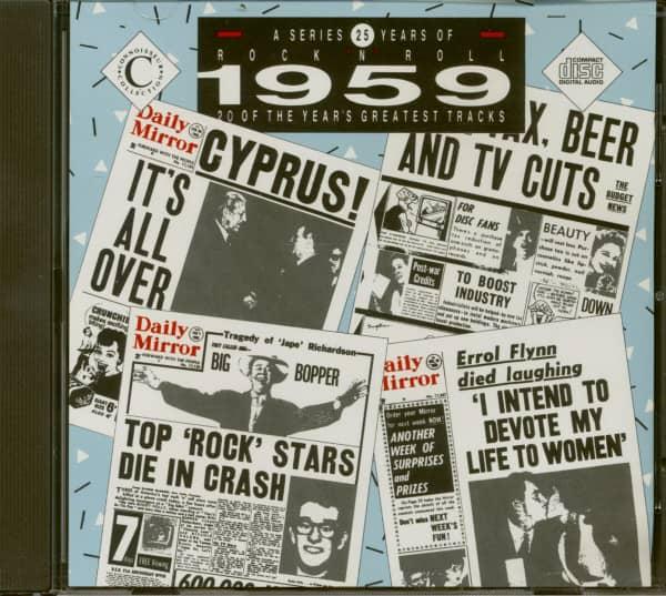 25 Years Of Rock 'N' Roll - 1959 (CD)