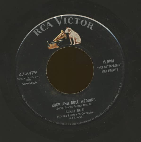 Rock And Roll Wedding - The Winner Takes All (7inch, 45rpm)