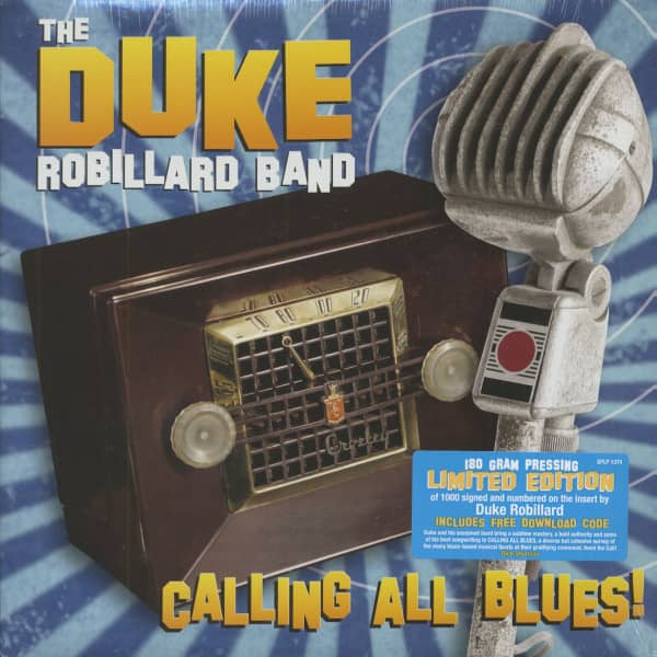Calling All Blues (180g vinyl - limited edition)