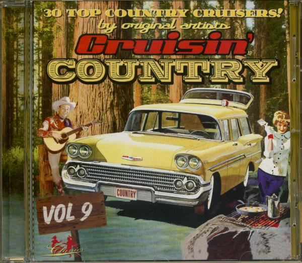 Cruisin' Country Vol.9 (CD)