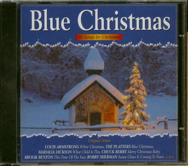 Blue Christmas - 20 Songs For Christmas (CD)