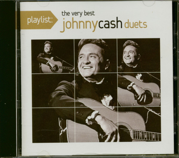 Playlist: The Very Best Johnny Cash Duets (CD)