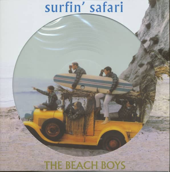 Surfin' Safari plus ... (Picture-LP, 180g Vinyl)