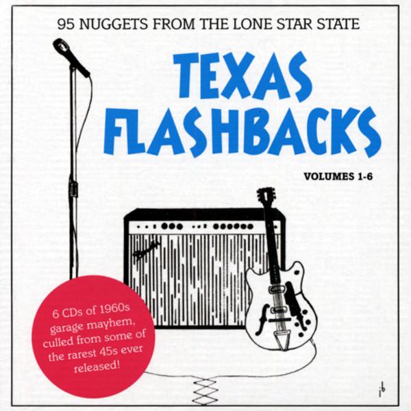 Texas Flashbacks (6-CD) 1960s Garage
