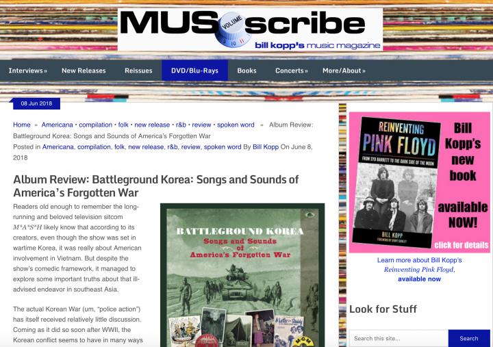 Press-Archives-Battleground-Korea-Songs-and-Sounds-of-America-s-Forgotten-War-musoscribe