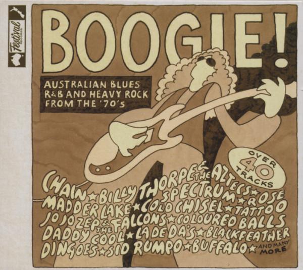 Boogie! - Australian Blues, R&B (70s) (2-CD)