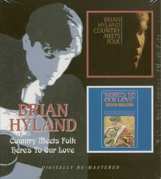 Country Meets Folk - Here's Brian Hyland (CD)