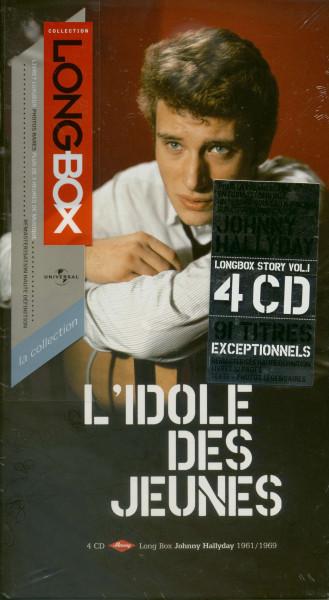 L'idole Des Jeunes - Johnny Hallyday 1961-69 (4-CD Longbox)