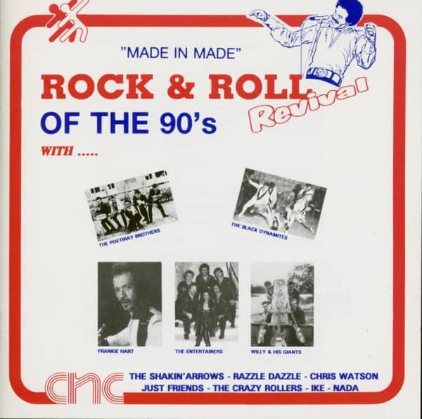 Rock & Roll Revival Of 90's (CD)
