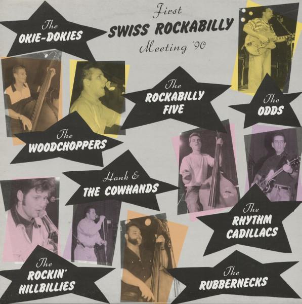 First Swiss Rockabilly Meeting '90 (LP)