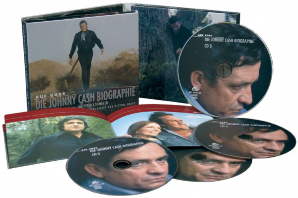 Auf Kurs - Johnny Cash Biografie (4-CD)